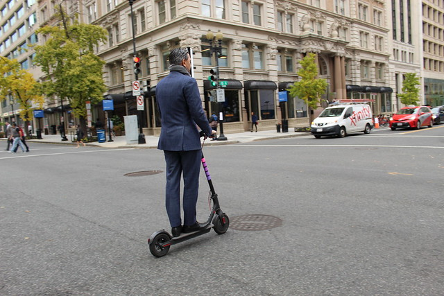 As electric scooters have been gaining popularity in the Washington region, local governments are tasked with creating regulations for them.