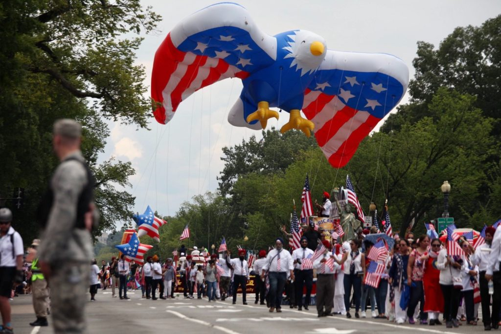 Washington, D.C.'s Independence Day parade