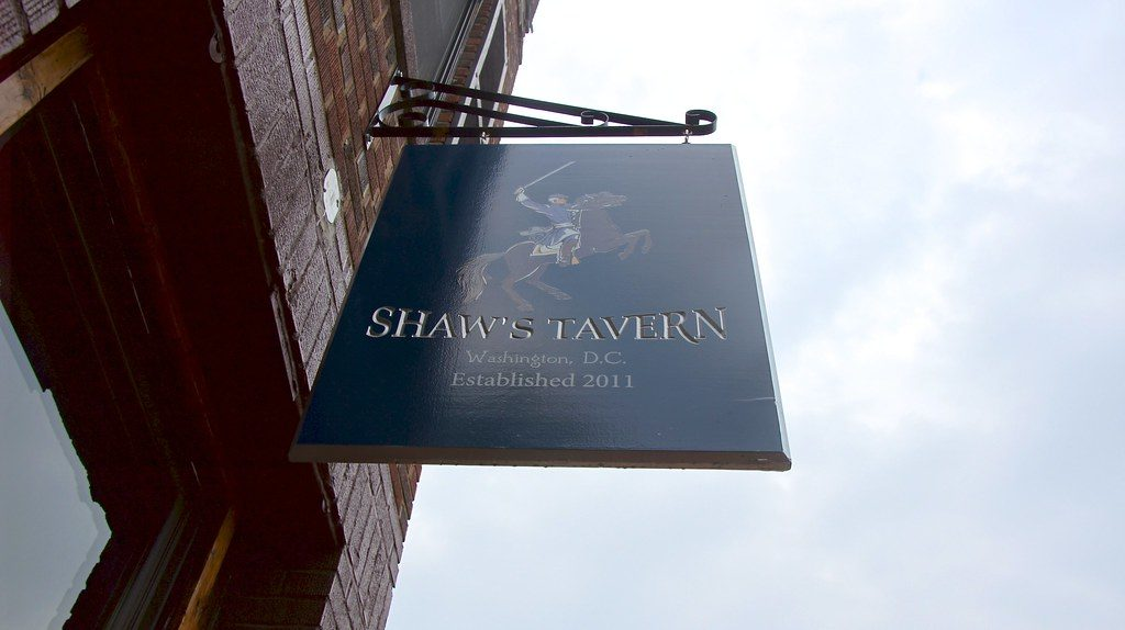 <i>Shaw's Tavern is one of many in D.C. that will open early and screen Robert Mueller's testimony. Image courtesy of Ted Eytan/Flickr</i>