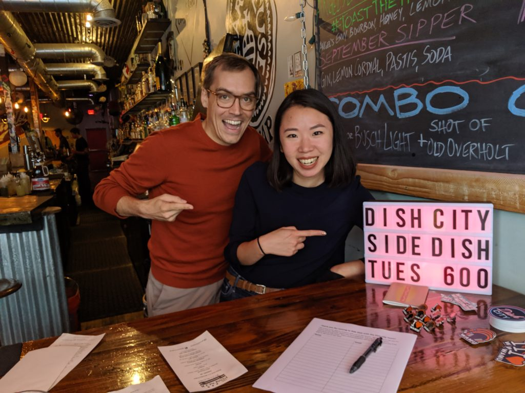Ruth Tam and Patrick Fort co-host the podcast Dish City, which tells the stories of city change through D.C.'s iconic foods.