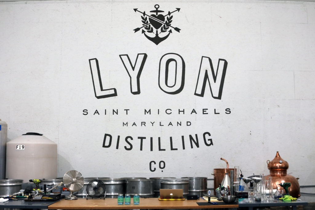Lyon Distilling Company, a craft distillery on Maryland's Eastern Shore, opened its doors in 2013.