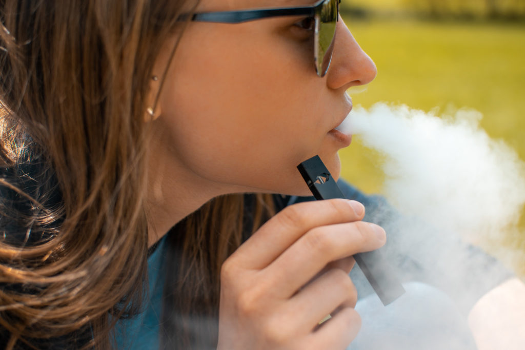 The Office of the Attorney General for D.C. filed a lawsuit against e-cigarette giant Juul in November 2019, saying the company knowingly marketed to kids.