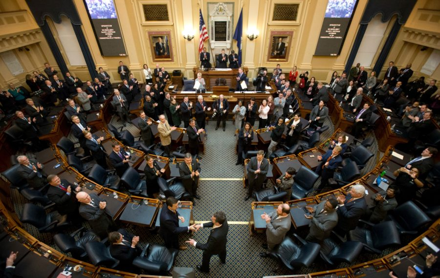 Democrats seized control of Virginia's General Assembly earlier this year and are pushing for stricter gun control laws. <i>Steve Helber / AP Photo</i>