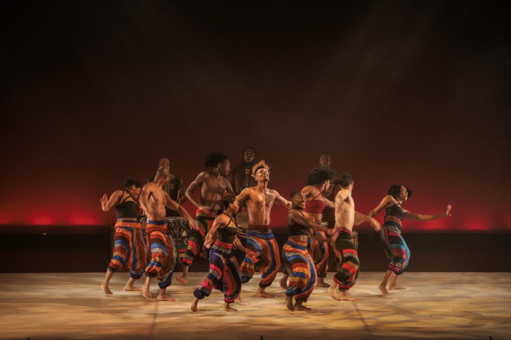 """Drumfolk,"" a Step Afrika! production, explores the significance of the Stono Rebellion of 1739 — when Africans lost the right to use their drums."