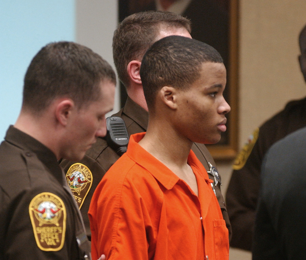 Lee Boyd Malvo was convicted as a teenager of taking part in deadly sniper attacks that terrorized the Washington area.