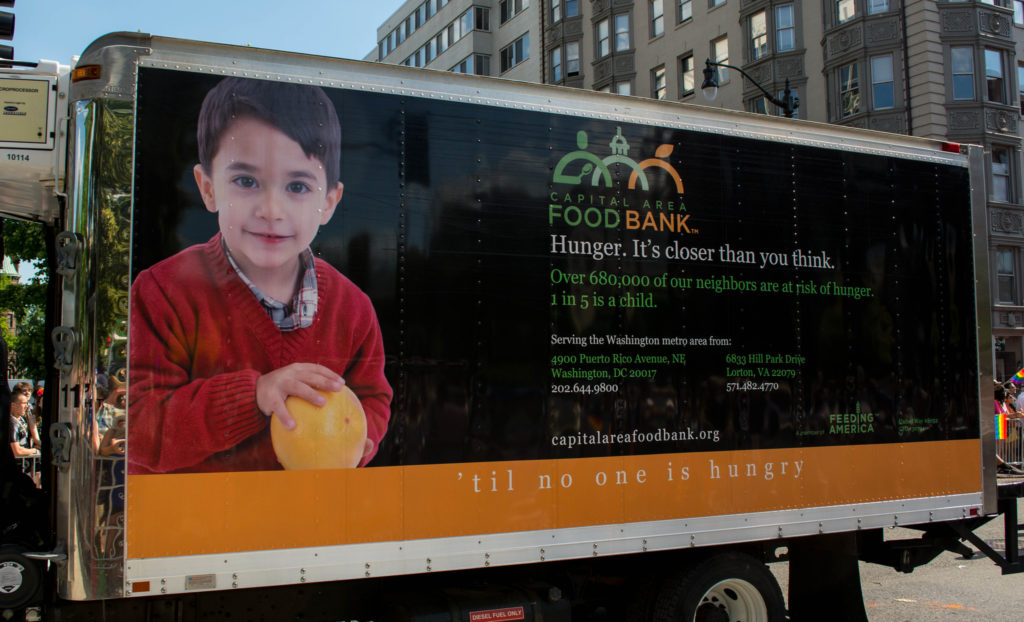 Many in the D.C. region have been relying on neighbors and food banks to help them through these difficult, pandemic times.