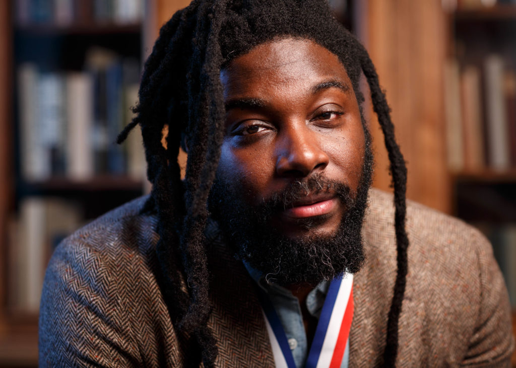Jason Reynolds, 2020-2021 National Ambassador for Young People's Literature.