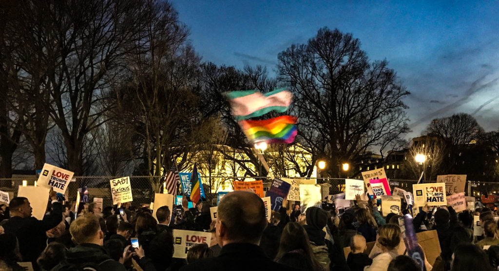 How is the LGBTQ+ community responding to the protests in the region?