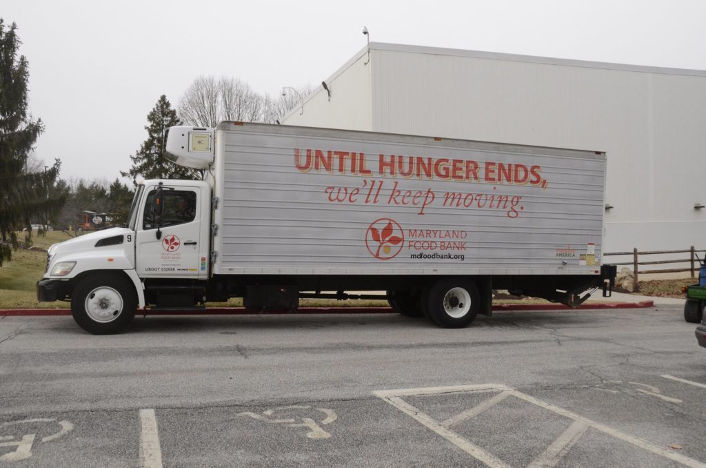 Area food banks have seen a surge in demand since the pandemic began.