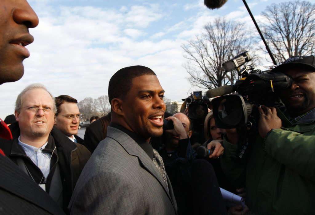 Jason Wright was named President of the Washington Football Team, making him the first black President of an NFL team.