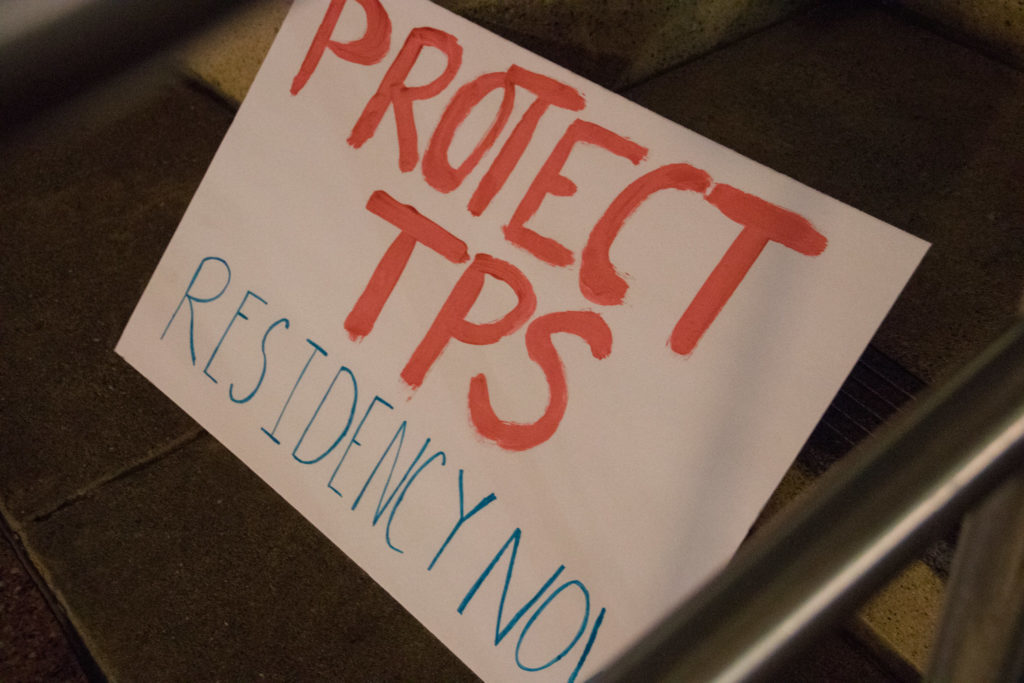 Local activists continue to advocate for Temporary Protected Status (TPS)