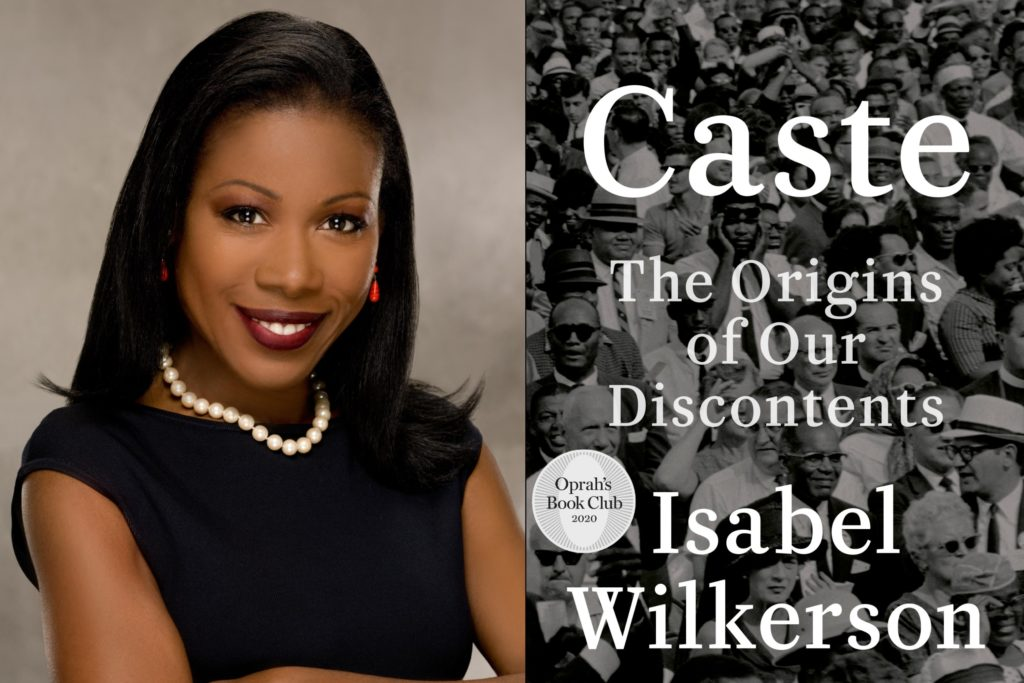 """Isabel Wilkerson is the author of the New York Times Bestseller """"The Warmth of Other Suns."""" Her most recent work is called """"Caste."""""""