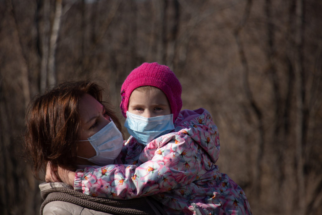 Mothers are often the ones taking on the extra burden caused by the pandemic.