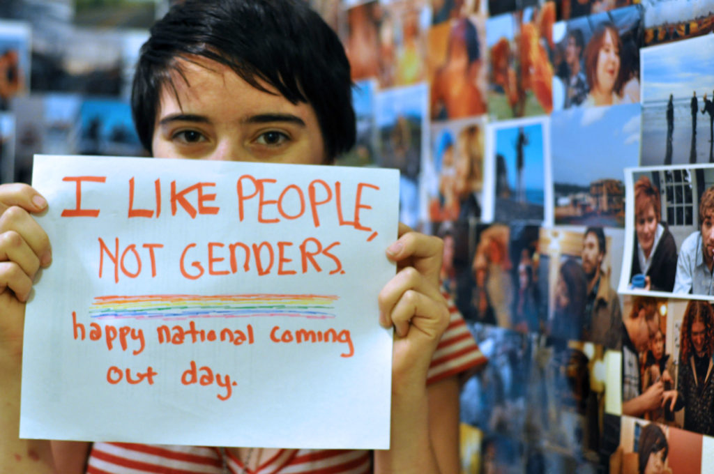 The 32nd Annual National Coming Out Day is Sunday, October 11.