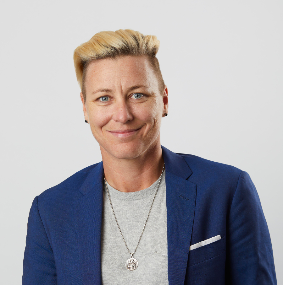Abby Wambach  is a two-time Olympic gold medalist , FIFA World Champion and activist for equality and inclusion.