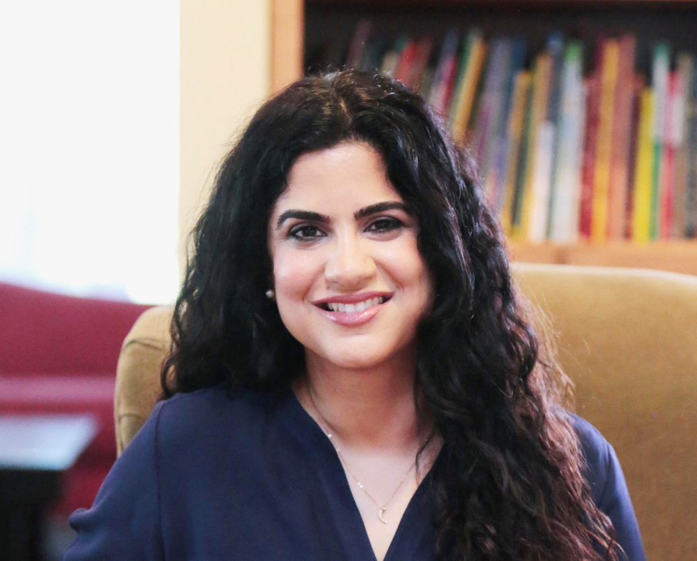 Author Hena Khan is the author of Amina's Song and 13 other books for children.