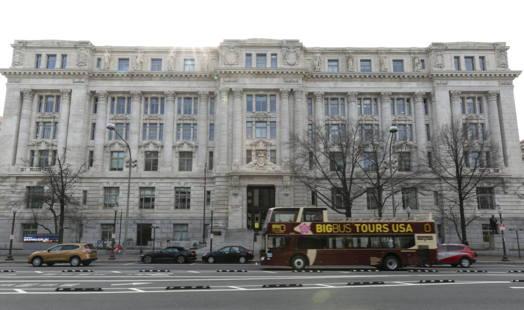 There is at least one person with a sense of humor who works in D.C.'s Wilson Building. That person is Josh Gibson.