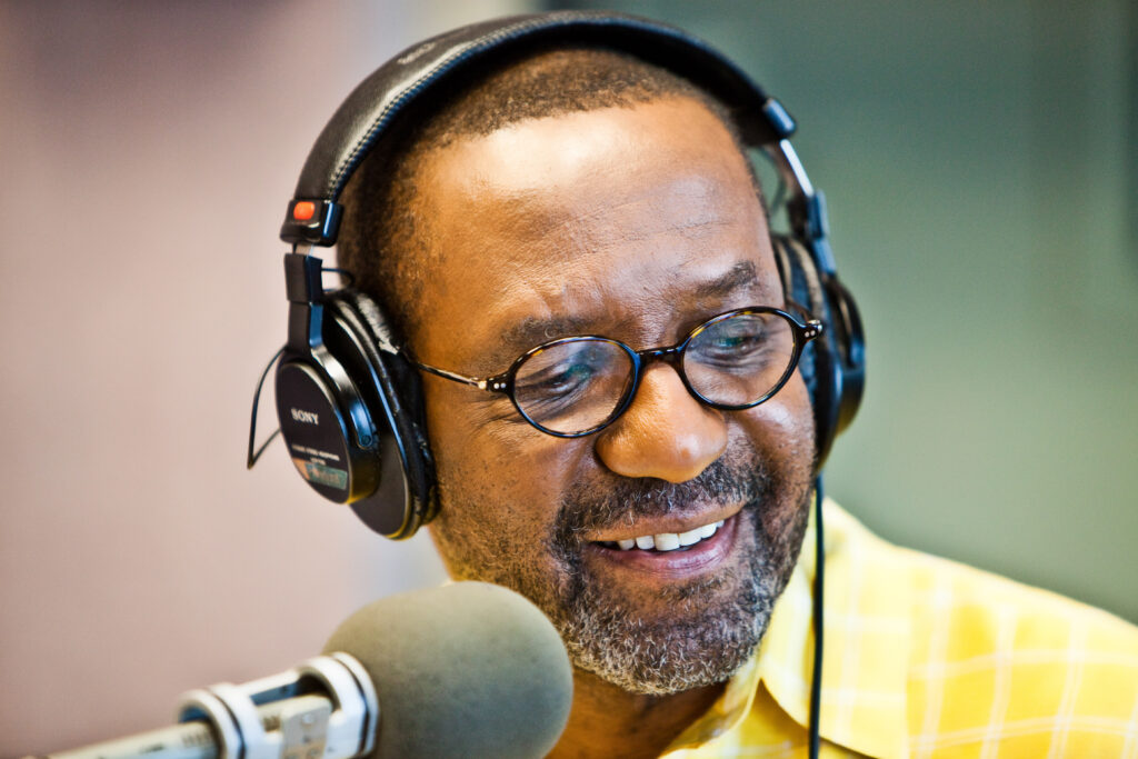 Kojo Nnamdi hosted the Kojo Nnamdi Show, originally called Public Interest, for 23 years.