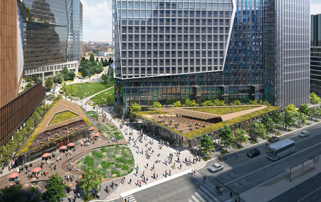 The next phase in Amazon's HQ2 plans is the development of the company's PenPlace campus.