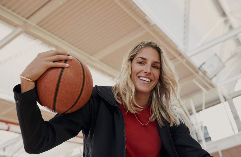 Washington Mystic's power forward Elena Delle Donne is a two-time MVP who led her team to the 2019 WNBA championship.