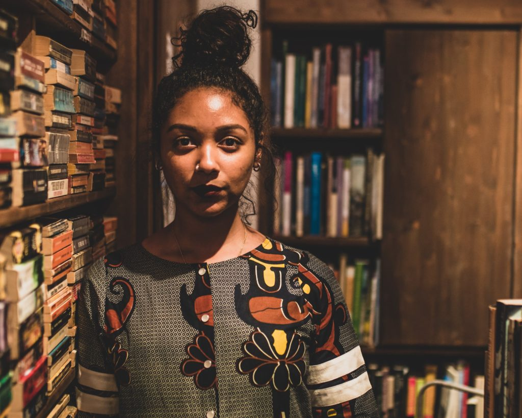 Safia Elhillo was was a three-time member and former coach of the D.C. Youth Slam Poetry team.