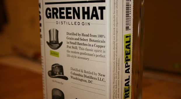Green Hat Gin is the signature spirit of New Columbia Distillers, the district's first craft distillery in more than a century.