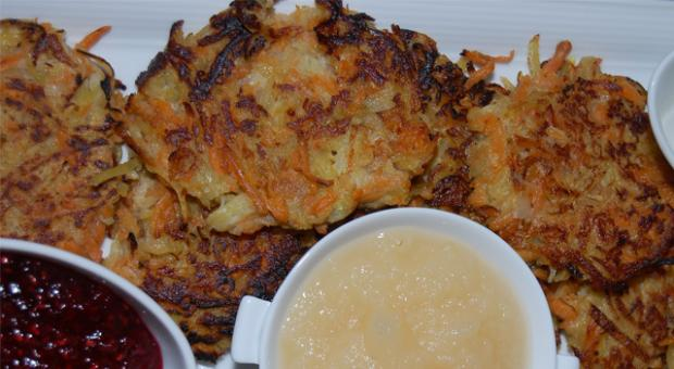 Vegan latkes from chef Todd Gray